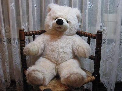 Sunkid Germany Cream Teddybear Long Snout Open Mouth Jumbo 23 inch