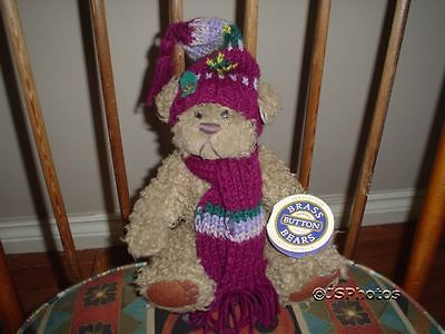 Brass Button Pickford Bears Dooley Serenity Bear 1996