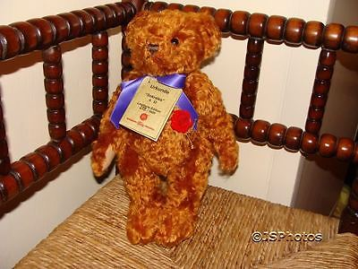 Hermann Original Sokrates Bear Mohair Ltd 279 3000 100 Year of Teddy Bears 2002