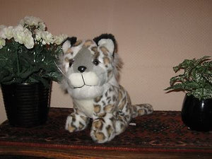 Dutch Dinotoys Apeldoorn Holland SNOW LEOPARD Plush