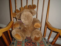 Macy's Northern Exposure 19 inch Stuffed Moose 1993