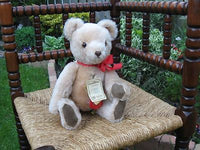 Hermann No No Beige Mohair Bear 1922 Replica 1990 Ltd 2011 of 4000 Rare