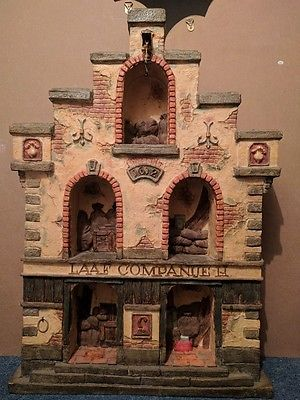 Efteling Holland Laaf Companije 2 Show Cabinet For Abc Gnome The Laaf Collection