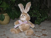 PMS UK Baby Safe Soft Brown Bunny Rabbit