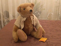Steiff Antik Teddy Bear Antique Blond Mohair 0243/32 WDW Convention 1988 RARE