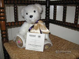 Merrythought UK Hope and Glory Queens Golden Jubilee Growler Mohair Teddy Bear