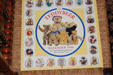 Each Day A Teddy Bear Calendar 1996 Fox Editions Dutch NEW Steiff Antique