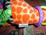 Lamaze Velvet Giraffe Baby Safe Educational Activity Toy