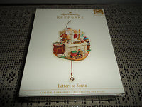 Hallmark Keepsake Ornament Letters to Santa Magic Sound Motion NEW 2006 QLX7606