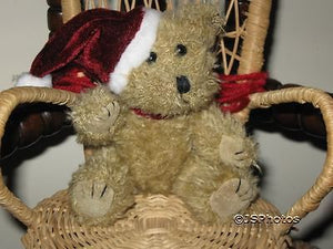 Accentra Germany Miniature Classic Jointed Christmas Teddy Bear 5 Inch Plush