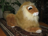 Nicky Toy Holland Stuffed Lion 20 Inch