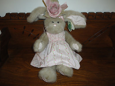 Bearington CASANDRA Bunny Rabbit Nr 4131 Floral Summer Dress 16 inch NEW