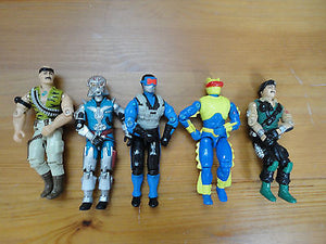 GI Joe Action Figures Mixed Lot 5 Hasbro 3.5 inch Assorted Characters Mixed I