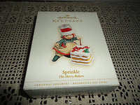 Hallmark Keepsake Ornament Sprinkle Merry Bakers Tammy Haddix Artist 2006 NEW