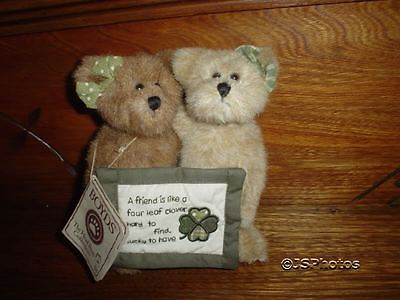 Boyds Bear Friends Mary & Beth Thinkin of Ya Series 1988-2005