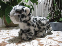 World Wild Life Fund 1985 White Grey Leopard Cub