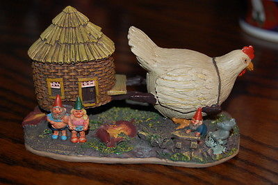 Rien Poortvliet Classic Villages David the Gnome Statue Sunshine Family Figurine