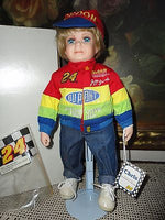 Hamilton JEFF GORDON NASCAR 24 Chris Bisque Porcelain Doll NEW w Tags 13