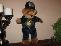 Harrods Greenman Police Teddy Bear 16 Inch Soft Plush