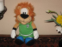 Holland Loeki Lion Plush World Cup Soccer Nr 1 Stuffed Animal