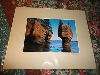 Fred Horton 35mm Photographer Artist Nova Scotia Canada Original Signature Art