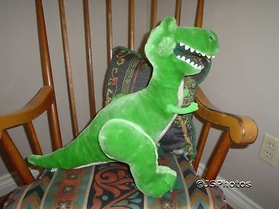 Disney TOY STORY Rex Dinosaur 16 inch LARGE Plush Toy