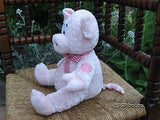 Bananas WL UK Stuffed Animal Plush Pink Pig 10 inch
