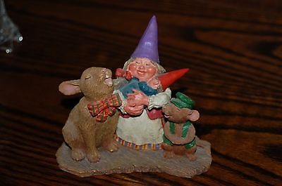 Rien Poortvliet Classic David the Gnome LIVING TOGETHER Forest Statue Mom & Baby