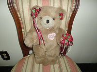 BARBARA RUANE COLLECTION Queen of Everything Bear Handcrafted Artist OOAK NY