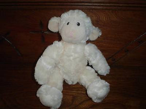 Animal Alley Exclusive Toys R Us 10 Inch White Sheep Lamb Soft Baby Plush