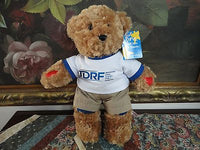 Aurora Rufus Juvenile Type 1 Diabetes Bear Carol Cramer New with Tags 15in 2015