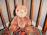 Ganz Teddy Bear Brown Plush The Heritage Collection Fully Jointed 11 inch 1991