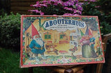 Rien Poortvliet David the Gnome House KABOUTERHUIS Cardboard Building Boards VTG