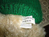 Ganz 1998 EATON Bear 17 inch Christmas Teddy in Knitted Sweater CH2257 Retired