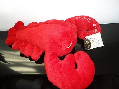 Nova Scotia Red PEI Lobster Plush Kindred Spirits Collection 12 Inch 400402