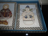 Artist Debbie Mumm Collectible Boxed Set of 36 Christmas Snowmen Cards 2003 NEW