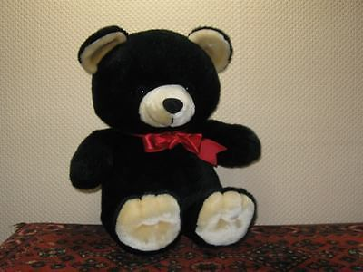 Woodland Bear Co UK 19 Inch Black Teddy Bear No Tags