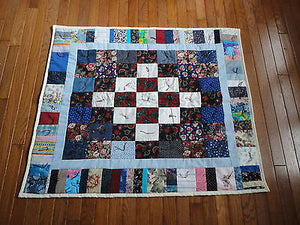 Patchwork QUILT Handcrafted Canada Lutheran Church 35 x 41 inch NEW GORGEOUS !