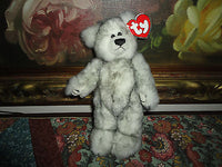 Ty Beanie Baby Attic Treasures Fairbanks Bear 8.5 inch with Tags 1993 Retired