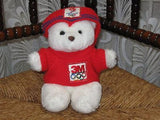 Dutch Olympic Mascot Bear 3M Albertville 1992 Rare