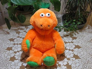 Bart Smit Holland Talking Orange Bear Plush 17 Inch That Tickles Battery Op Toy