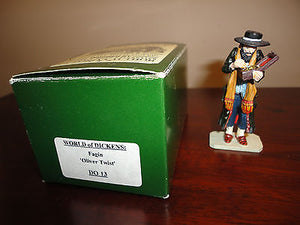 King & Country WORLD of DICKENS FAGIN OLIVER TWIST DO13 Original Box 1995 UK