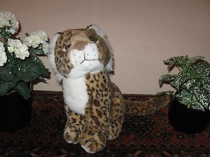 Dutch Frits Struis Holland Stuffed Leopard So cute