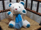 Vintage Free & Easy Amsterdam Holland Winter Bear for French Market