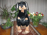 Nico Toy Holland Doberman Dog Plush 20 inch 51 cm RARE