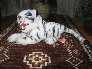 Holland  White Bengal Tiger Stuffed Plush