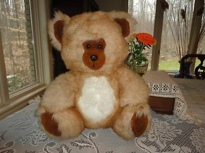 Mighty Star Quebec Vintage Bear Cinnamon Plush 14 inch