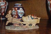 Rien Poortvliet Classic David the Gnome Forest Villages Sailing Away 2000 Egbert