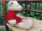 Harrods Uk Valentines Bear 16 Inch Knitted Heart Sweater