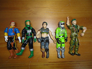 GI Joe Action Figures Mixed Lot 5 Hasbro 3.5 inch Assorted Characters Mixed O